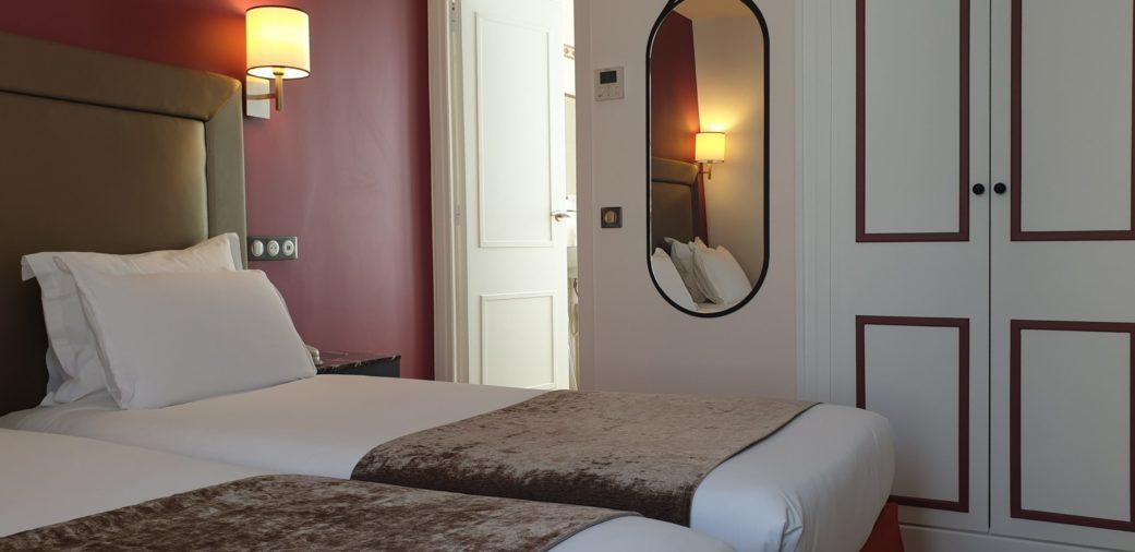 chambre twin sup - hotel acacias étoile 414 - c