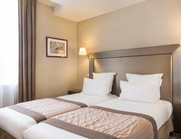 chambre twin supérieure - hôtel acacias étoile