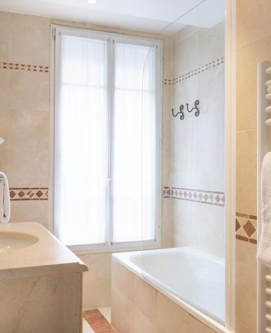 salle de bain - hôtel acacias étoile bis
