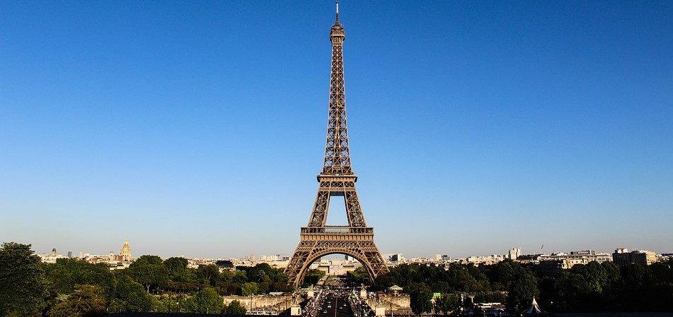 vue tour eiffel paris - hôtel acacias etoile